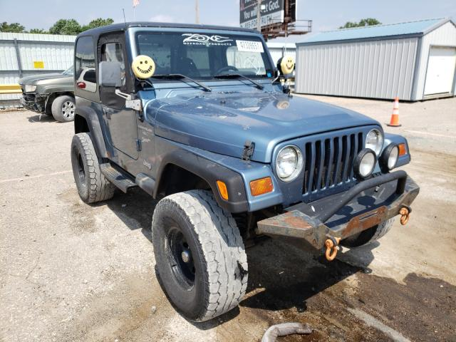 Salvage cars for sale from Copart Wichita, KS: 1999 Jeep Wrangler