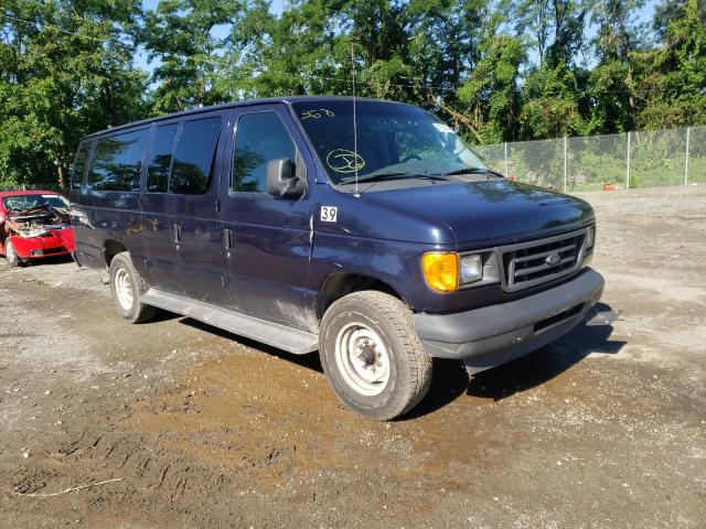 Salvage cars for sale from Copart Baltimore, MD: 2003 Ford Econoline
