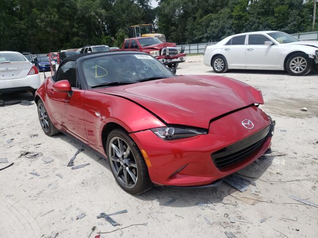 Salvage cars for sale from Copart Ocala, FL: 2017 Mazda MX-5 Miata