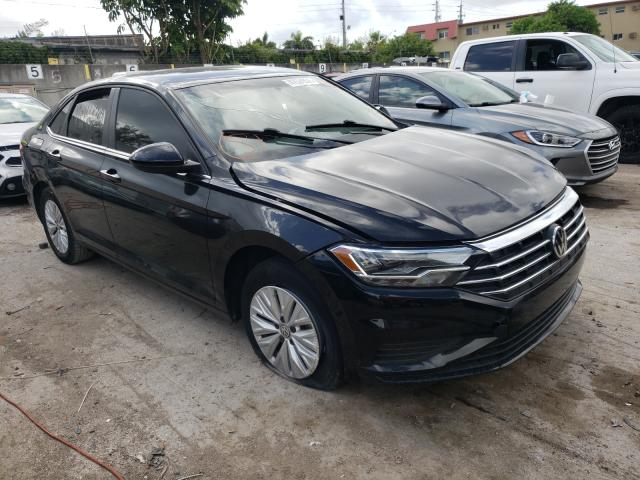 Salvage cars for sale from Copart Opa Locka, FL: 2019 Volkswagen Jetta S