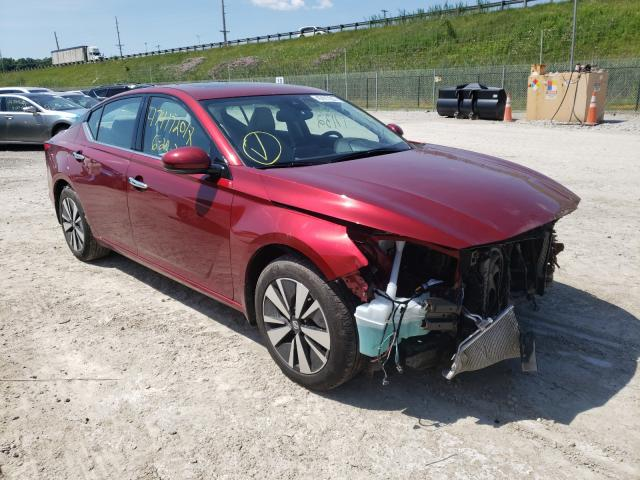 Salvage cars for sale from Copart Northfield, OH: 2019 Nissan Altima SL