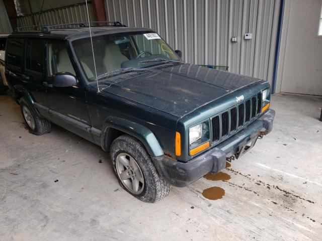 Salvage cars for sale from Copart Appleton, WI: 2000 Jeep Cherokee S