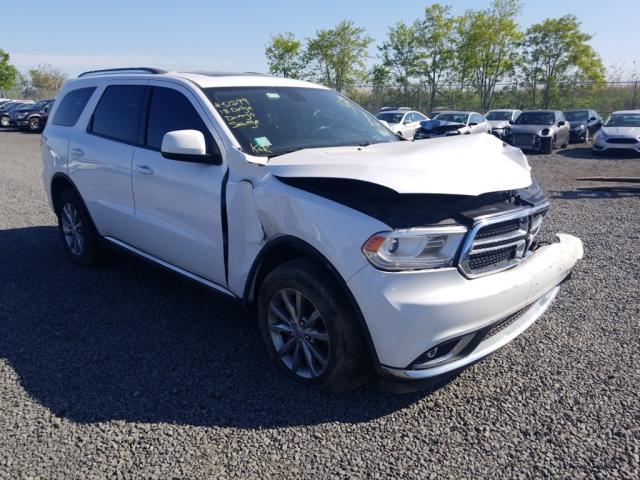 Salvage cars for sale from Copart Hillsborough, NJ: 2018 Dodge Durango SX