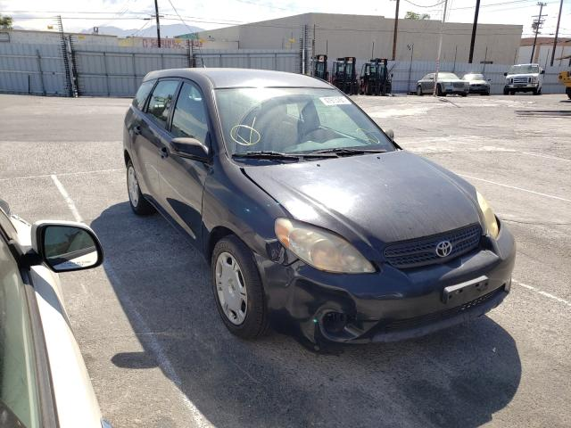 Salvage cars for sale from Copart Sun Valley, CA: 2005 Toyota Corolla MA