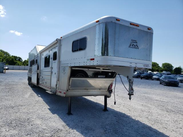Salvage cars for sale from Copart Rogersville, MO: 2019 Platinum Trailer