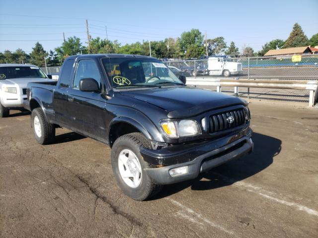 Salvage cars for sale from Copart Denver, CO: 2002 Toyota Tacoma XTR