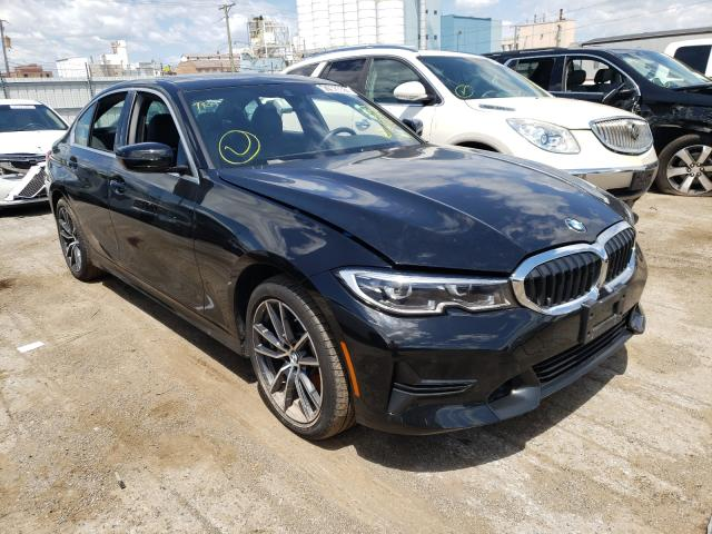Salvage cars for sale at Chicago Heights, IL auction: 2020 BMW 330XI