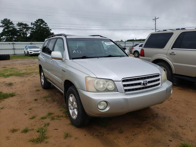 Salvage cars for sale from Copart Newton, AL: 2002 Toyota Highlander