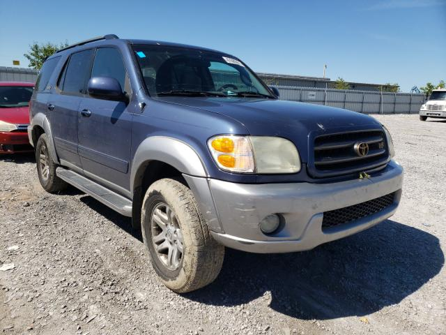 Salvage cars for sale from Copart Walton, KY: 2004 Toyota Sequoia SR