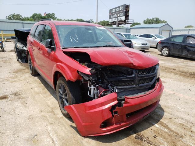 Salvage cars for sale from Copart Wichita, KS: 2020 Dodge Journey SE