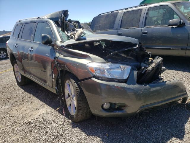 Salvage cars for sale from Copart San Martin, CA: 2008 Toyota Highlander
