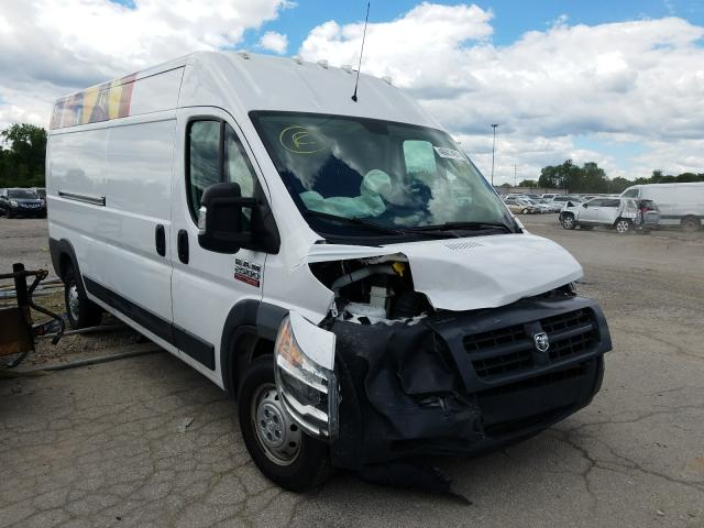 Salvage trucks for sale at Fort Wayne, IN auction: 2017 Dodge RAM Promaster