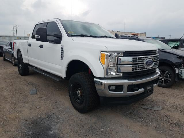 Salvage cars for sale at Mercedes, TX auction: 2017 Ford F250 Super