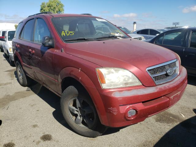 Salvage cars for sale from Copart Martinez, CA: 2006 KIA Sorento