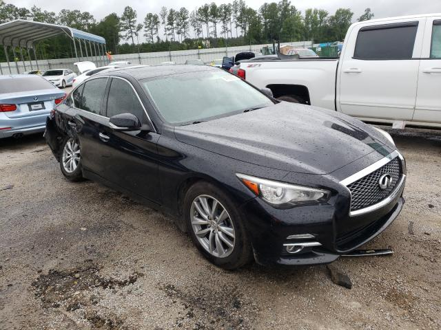 Salvage cars for sale from Copart Harleyville, SC: 2015 Infiniti Q50 Base