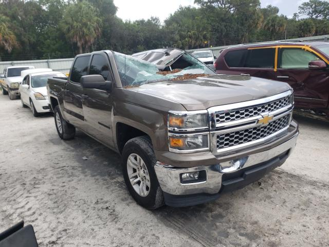 Salvage cars for sale from Copart Fort Pierce, FL: 2014 Chevrolet Silverado
