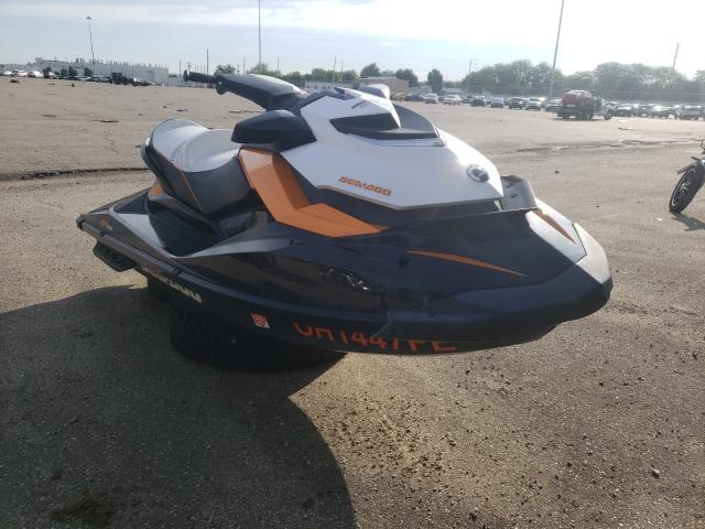 Salvage boats for sale at Moraine, OH auction: 2013 Seadoo GTR215