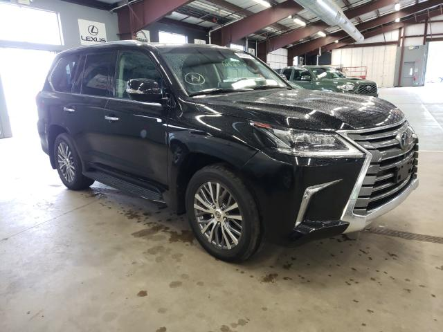 Salvage cars for sale from Copart East Granby, CT: 2018 Lexus LX 570