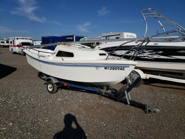 Salvage boats for sale at Helena, MT auction: 1987 Other Boat