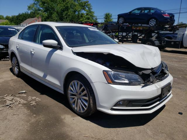 Salvage cars for sale at Finksburg, MD auction: 2016 Volkswagen Jetta SEL