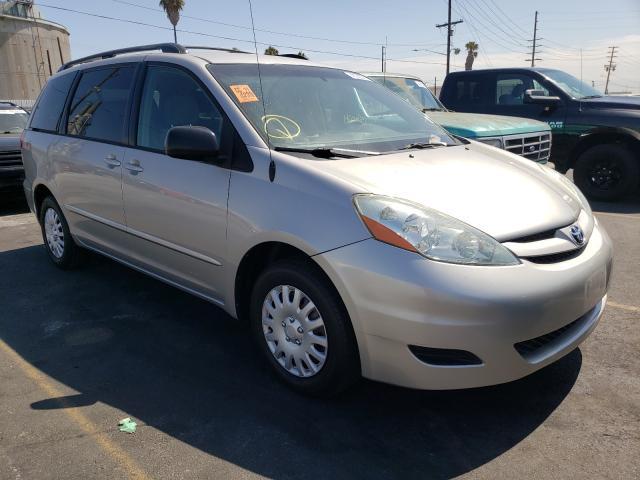 Vehiculos salvage en venta de Copart Wilmington, CA: 2006 Toyota Sienna CE
