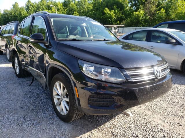 Volkswagen salvage cars for sale: 2017 Volkswagen Tiguan WOL