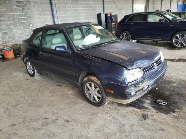 1997 Volkswagen Cabrio HIG en venta en Cartersville, GA