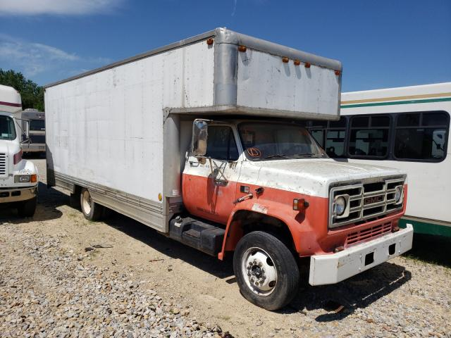 Salvage cars for sale from Copart Kansas City, KS: 1988 GMC C6000 C6D0