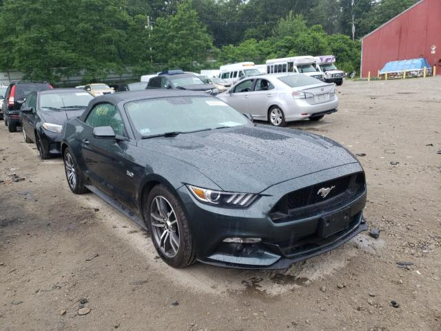 Salvage cars for sale from Copart Mendon, MA: 2015 Ford Mustang
