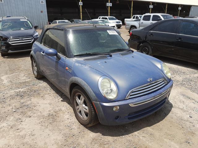 Vehiculos salvage en venta de Copart Phoenix, AZ: 2006 Mini Cooper