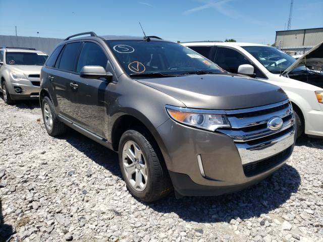 Salvage cars for sale from Copart Lawrenceburg, KY: 2013 Ford Edge SEL