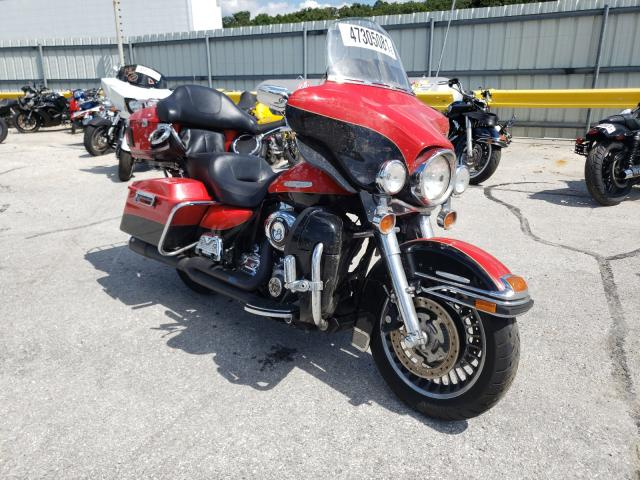 Salvage motorcycles for sale at Rogersville, MO auction: 2010 Harley-Davidson Flhtk
