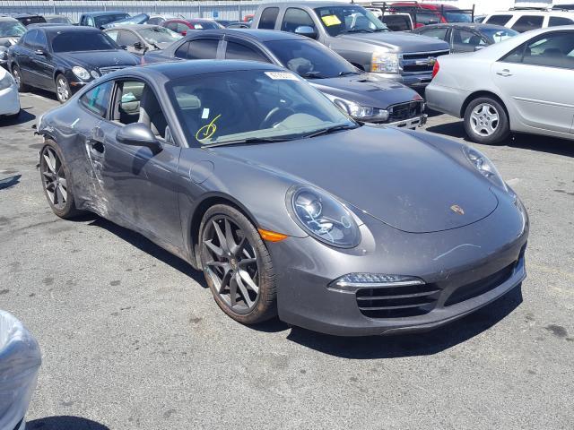 Porsche Vehiculos salvage en venta: 2013 Porsche 911 Carrer