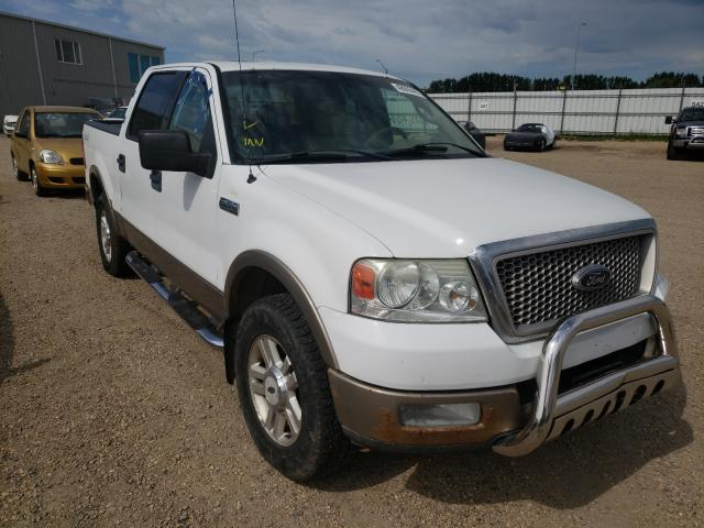 Salvage cars for sale from Copart Nisku, AB: 2004 Ford F150 Super