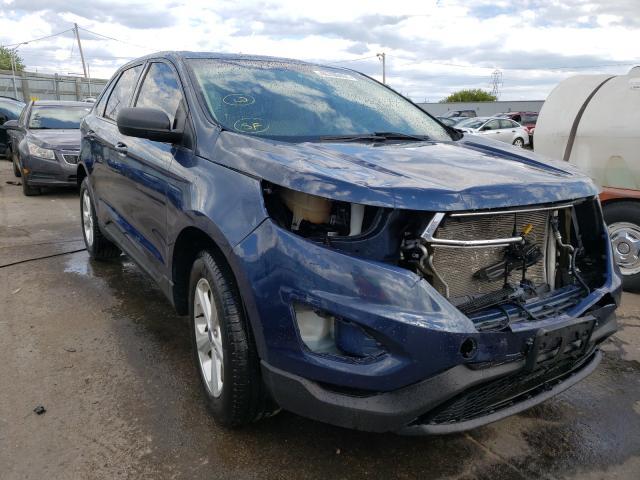 Ford Vehiculos salvage en venta: 2017 Ford Edge SE