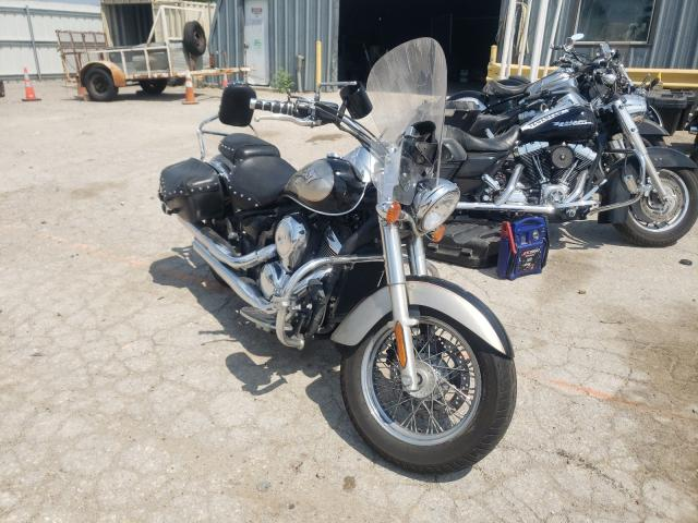 Salvage cars for sale from Copart Wichita, KS: 2011 Kawasaki VN900 D
