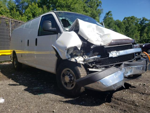 Salvage cars for sale from Copart Waldorf, MD: 2014 Chevrolet Express G2