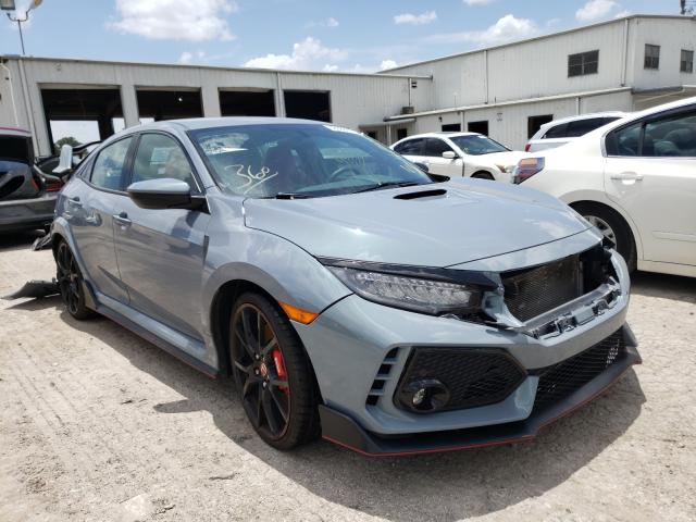 Salvage cars for sale from Copart Orlando, FL: 2019 Honda Civic Type