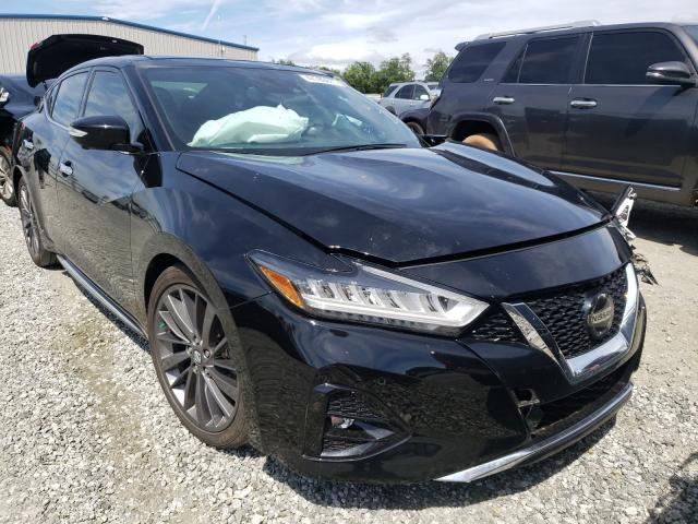 Salvage cars for sale from Copart Spartanburg, SC: 2019 Nissan Maxima S