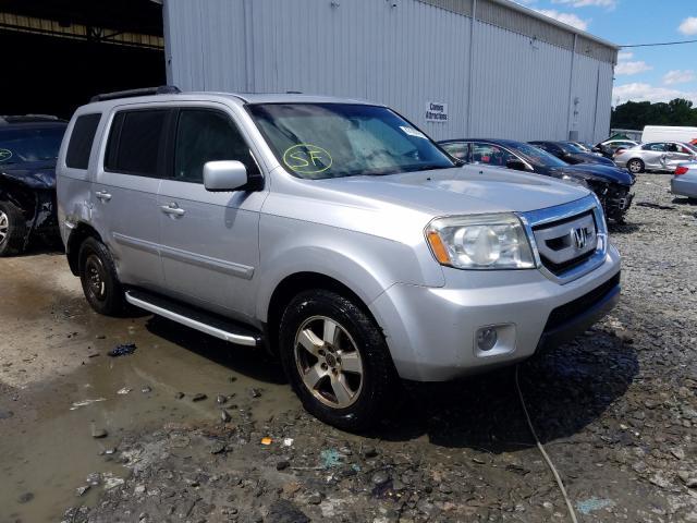 Salvage cars for sale at Windsor, NJ auction: 2011 Honda Pilot EXL