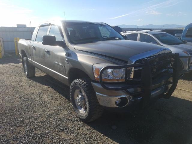 Salvage cars for sale from Copart Helena, MT: 2006 Dodge RAM 2500