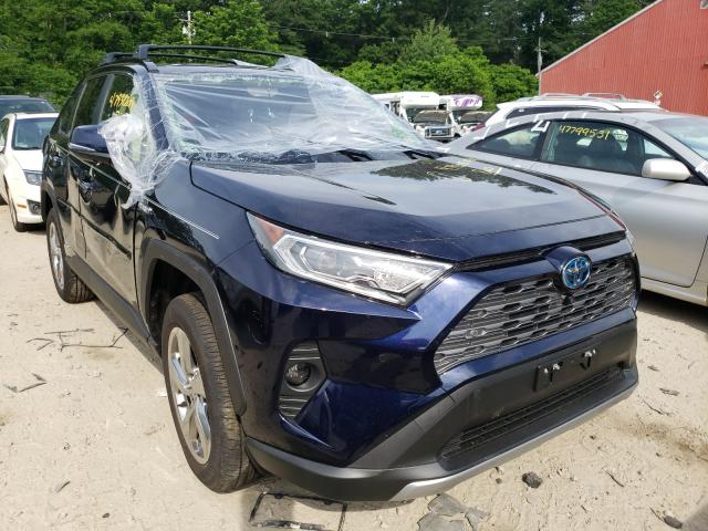 Toyota salvage cars for sale: 2021 Toyota Rav4 Limited