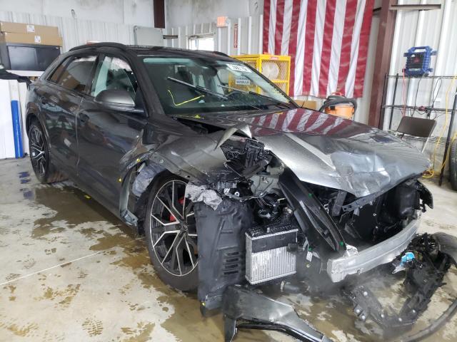 Salvage cars for sale from Copart Ellenwood, GA: 2021 Audi Q8 Premium