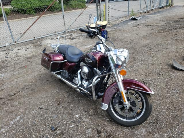 Salvage cars for sale from Copart Wheeling, IL: 2015 Harley-Davidson Flhr Road