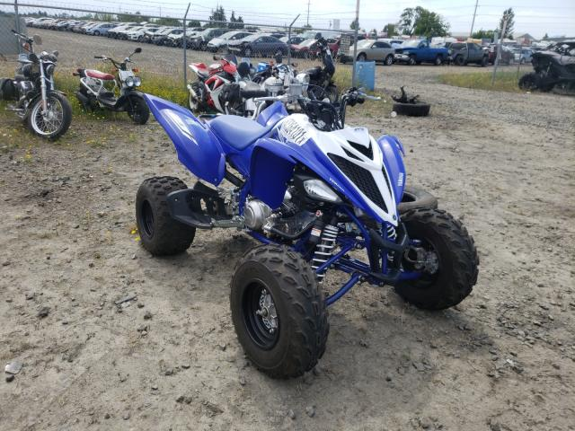 Salvage motorcycles for sale at Eugene, OR auction: 2018 Yamaha YFM700 R