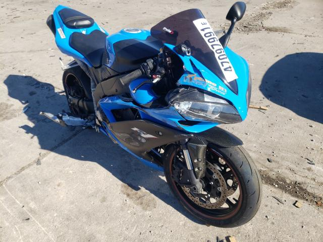 Salvage cars for sale from Copart Woodhaven, MI: 2007 Yamaha YZFR1