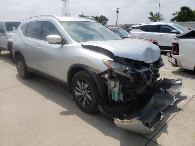 Vehiculos salvage en venta de Copart Oklahoma City, OK: 2015 Nissan Rogue S