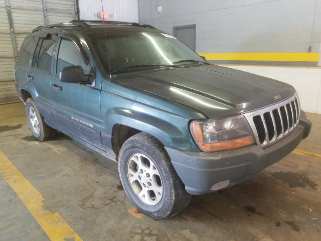 Salvage cars for sale from Copart Mocksville, NC: 2000 Jeep Grand Cherokee