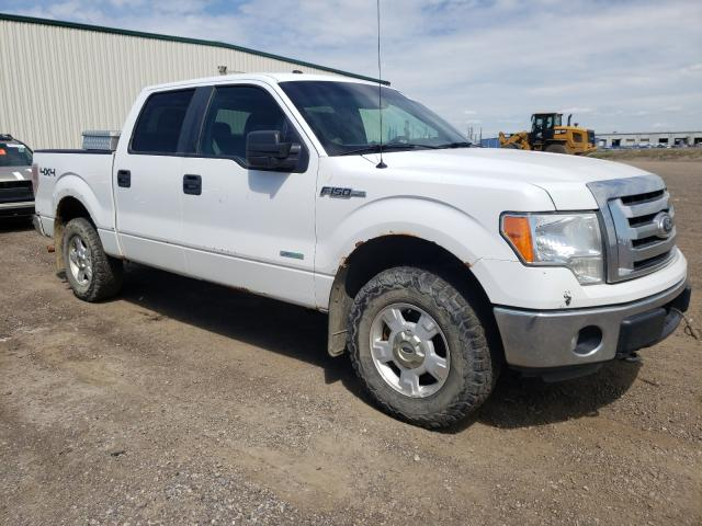 Salvage cars for sale from Copart Rocky View County, AB: 2012 Ford F150 Super