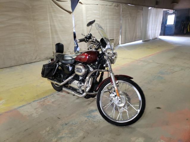 Salvage cars for sale from Copart Indianapolis, IN: 2008 Harley-Davidson XL1200 C
